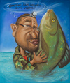 Cartoon: Fisher (small) by Avel tagged caricature