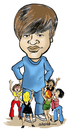 Cartoon: Justin Bieber (small) by jeander tagged justin,bieber