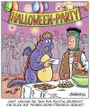 Cartoon: halloween (small) by pentrick tagged halloween,party,gehalt,chef,boss,büro,office,gerd,bökesch,tank,comics,tankcomics,cartoon