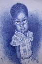 Cartoon: MACUMBA FROM SENEGAL (small) by GOYET tagged senegal,kit,girl,cartoon