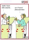 Cartoon: cassonettari alla Leopolda (small) by Enzo Maneglia Man tagged cassonettari,man,maneglia,fighillearte