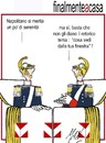 Cartoon: Napolitano torna a casa (small) by Enzo Maneglia Man tagged cassonettari,man,maneglia,fighillearte