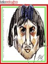 Cartoon: Toto Cotugno a Sanremo 2013 (small) by Enzo Maneglia Man tagged toto,cotunio,1983,2013,sanremo,festival,maneglia