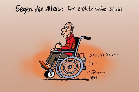 Der Elektrische Stuhl Toy Ths Rene A8lhtika Cartoon Toonpool