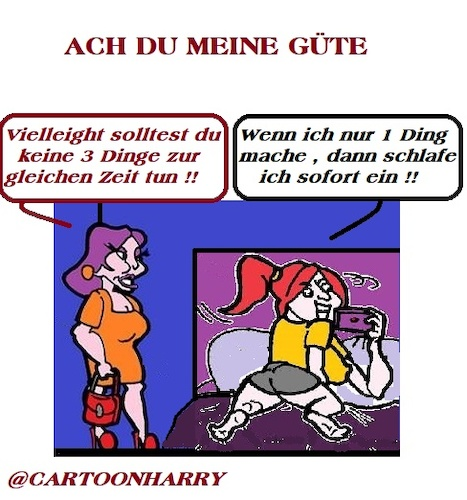 Cartoon: Drei Dinge (medium) by cartoonharry tagged dinge,cartoonharry