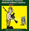 Cartoon: A Mess In Kunduz Afghanistan (small) by cartoonharry tagged kunduz,afghanistan,logistics,holland,military,police,amunition,mess,cartoon,cartoonist,cartoonharry,dutch,toonpool