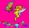 Cartoon: Butterfly (small) by cartoonharry tagged insects girls nude cartoonharry dutch cartoonist toonpool