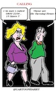 Cartoon: Calling (small) by cartoonharry tagged phone,cartoonharry