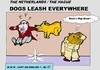 Cartoon: Chain Up Dogs Everywhere (small) by cartoonharry tagged chain,leash,dog,dogs,everywhere,man,cartoon,comic,comics,artist,cool,cooler,coolest,art,arts,drawing,cartoonist,cartoonharry,dutch,holland,toonpool,toonsup,facebook,hyves,linkedin,buurtlink,deviantart