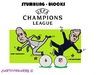 Cartoon: Champions League (small) by cartoonharry tagged championsleague,soccer,guardiola,mourinho,realmadrid,atleticomadrid