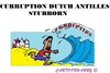 Cartoon: Corruption Dutch Antilles (small) by cartoonharry tagged corruption,antilles,dutch,heading,cartoons,cartoonists,cartoonharry,toonpool