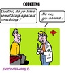 Cartoon: Couching (small) by cartoonharry tagged cool,cold,couch,doctor,do