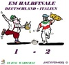 Cartoon: Deutschland - Italien (small) by cartoonharry tagged fussball,em,halbfinale,kartun,toon,cartoon,dutch,cartoonharry,toonpool