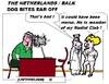 Cartoon: Dog Bites Ear Off (small) by cartoonharry tagged ear,dog,boss,off,bite,cartoon,cartoonist,cartoonharry,dutch,holland,toonpool