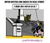Cartoon: Dutch Cheese (small) by cartoonharry tagged newyork,wallstreet,dutch,butter,cheese
