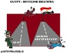 Cartoon: Egypt (small) by cartoonharry tagged egypt,dilemma,devil,mbh,army,toonpool