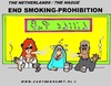 Cartoon: End Smoking-Prohibition (small) by cartoonharry tagged smoker,pub,prohibition,cartoonharry