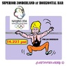 Cartoon: Epke Zonderland Again (small) by cartoonharry tagged holland,china,epke,zonderlan,horizontalbar,worldchampion