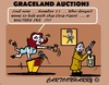 Cartoon: Graceland Auctions (small) by cartoonharry tagged elvis,pelvis,graceland,auctions,pistol