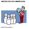 Cartoon: Heinz (small) by cartoonharry tagged heinz,brinta,roosvicee,venz,deruyter,bowling,knockson,toonpool
