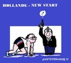 Cartoon: Hollande New Start (small) by cartoonharry tagged hollande,must,start,reverse,cartoons,cartoonists,cartoonharry,dutch,toonpool