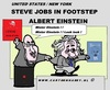 Cartoon: Jobs As Einstein (small) by cartoonharry tagged biography,steve,jobs,albert,einstein,cartoon,comic,comics,comix,artist,art,arts,drawing,cartoonist,cartoonharry,toonpool,toonsup,hyves,linkedin,buurtlink,deviantart