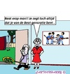 Cartoon: Kom op (small) by cartoonharry tagged orders,oma,opa,tapijt,slaan,beatles,generatie,cartoon,cartoonist,cartoonharry,dutch,toonpool