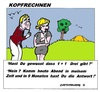 Cartoon: Kopfrechnen (small) by cartoonharry tagged schwanger,kopfrechnen,zelt,monate,zahlen,eins,plus,drie,cartoon,cartoonist,cartoonharry,dutch,toonpool