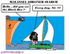 Cartoon: Malaysian Airliner Search (small) by cartoonharry tagged airliner,malaysian,blackbox,search