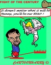 Cartoon: Manny Pacquiao (small) by cartoonharry tagged usa,sports,boxing,fight,century,manny,pacquiao,philippines