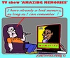 Cartoon: Memories (small) by cartoonharry tagged tvshow,tv,elderly,media,memories,memory
