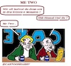 Cartoon: MeTwo (small) by cartoonharry tagged metwo,cartoonharry