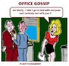Cartoon: Office Gossip (small) by cartoonharry tagged office,cartoonharry
