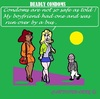 Cartoon: Okay Okay Blond Again (small) by cartoonharry tagged girls,black,blond,condoms,deadly,busdriver,cartoonharry