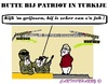 Cartoon: Patriot Bezoek (small) by cartoonharry tagged patriot,syrie,turkije,rutte