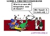 Cartoon: Samir A (small) by cartoonharry tagged samir,vrij,moslim,aanslagen,holland,toonpool