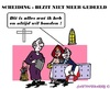 Cartoon: Scheiding (small) by cartoonharry tagged scheiding,bezit