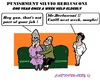 Cartoon: Silvio Berlusconi (small) by cartoonharry tagged italy,elderly,berlusconi,punishment,nurse,angry