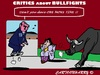 Cartoon: Spain - Bullfights (small) by cartoonharry tagged spain,bullfights,critics,ec,stop