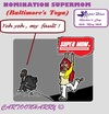 Cartoon: Super Mom (small) by cartoonharry tagged usa,baltimore,mothersday,mom,supermom,son,nomination
