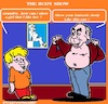 Cartoon: The Body Show (small) by cartoonharry tagged body,cartoonharry