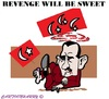 Cartoon: the Turkish Revenge (small) by cartoonharry tagged syria,turkey,revenge,sweet,assad,cartoons,cartoonists,cartoonharry,dutch,toonpool