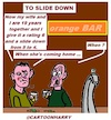 Cartoon: To Slide Down (small) by cartoonharry tagged down,cartoonharry