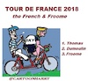 Cartoon: Tour devFrance 2018 (small) by cartoonharry tagged tourdefrance2018,froome,cartoonharry