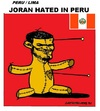 Cartoon: VooDoo Puppet Joran (small) by cartoonharry tagged joran,sloot,peru,prison,court,cartoon,cartoonist,cartoonharry,dutch,toonpool