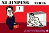 Cartoon: Xi Jinping (small) by cartoonharry tagged xijinping,xi,china,hu,cartoon,kooi,cartoonist,cartoonharry,dutch,toonpool