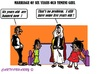 Cartoon: Yemeni Girls (small) by cartoonharry tagged yemen,child,girl,marriage