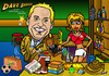 Cartoon: Dave Barker Caricature (small) by roundheadillustration tagged pub,bar,enigma,beer,policeman