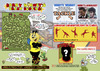 Cartoon: Harry Hornets Brain Busters (small) by roundheadillustration tagged football,soccer
