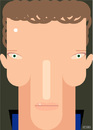 Cartoon: Benedict Cumberbatch (small) by Hugh Jarse tagged cumberbatch,caricature,sherlock,holmes